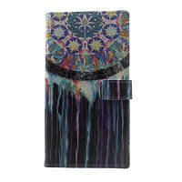 Dream Catcher Pattern Flip Кожаный кошелек Стенд для телефона Samsung Galaxy S8 Plus Разноцветный