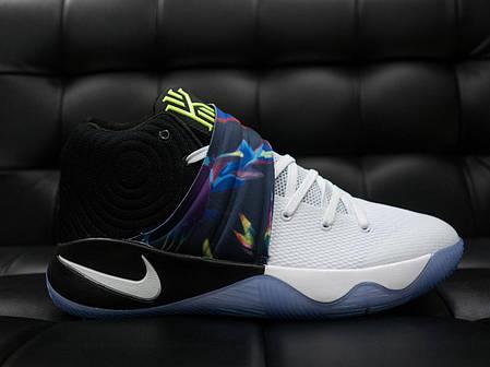 Мужские кроссовки Nike HDR белые с синим топ реплика, фото 2
