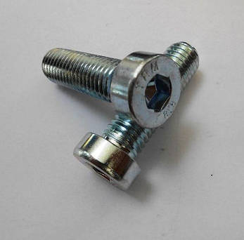 Винт М5 DIN 7984 с внутренним шестигранником и низкой цилиндрической головкой | кл. пр. 8.8, фото 2