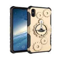 Опорная консоль с защитой мобильного телефона для iPhone X Золотой