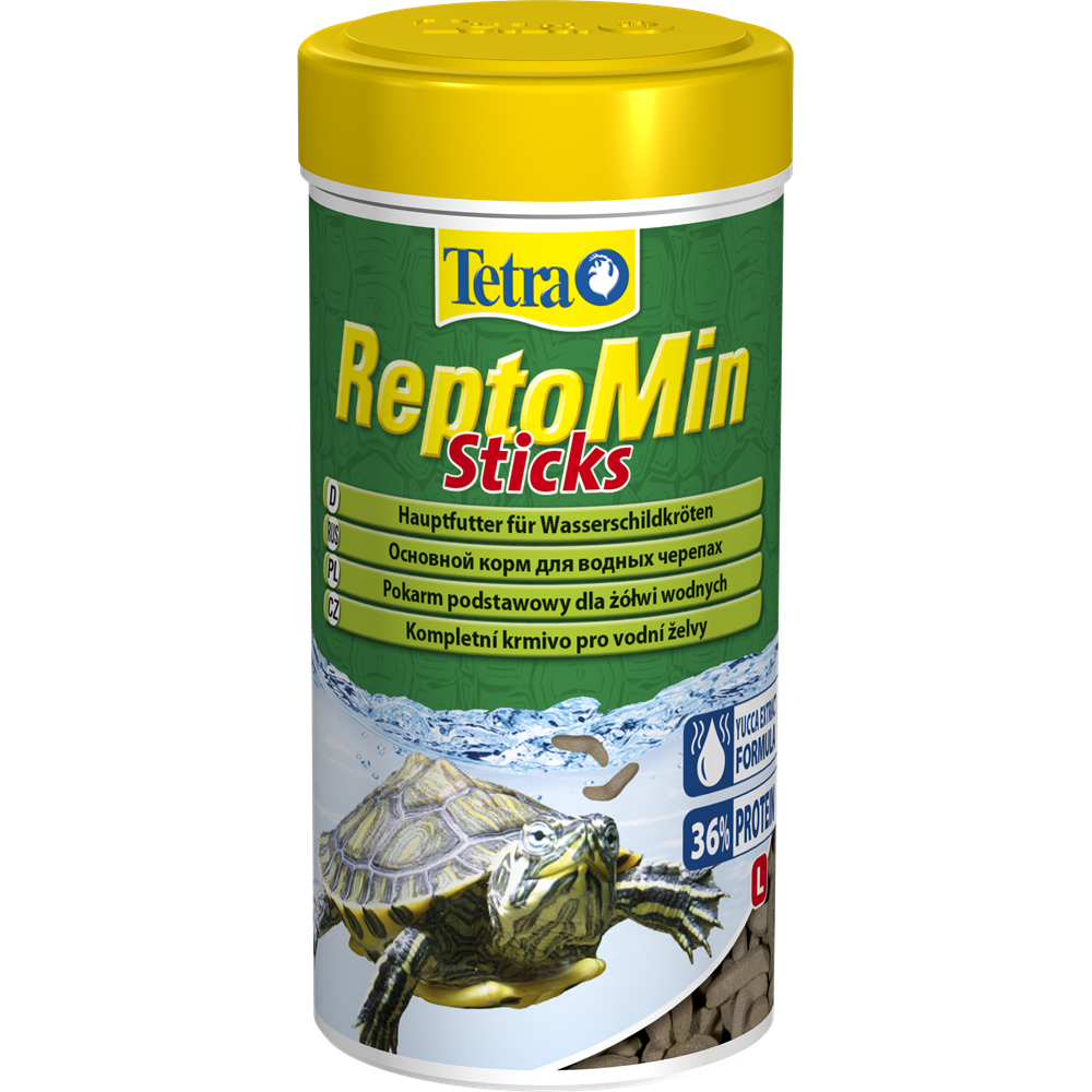 Корм для водных черепах ReptoMin Sticks 250 мл Tetra