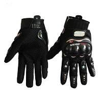 Стильные спортивные перчатки для мотоцикла из воздухопроницаемой сеточной ткани M
