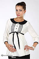 """Блузка для беременных из искусственного сатина """"Camilla"""""""