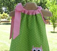 Детское платье -  горошек с апликацией, фото 1