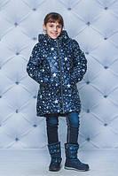 """Тёплая зимняя куртка для девочки """"Зірочки"""", фото 1"""