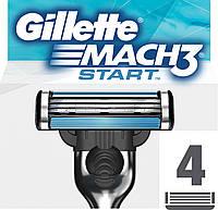 """Картридж Gillette """"Mach3"""" Start"""" (4)"""