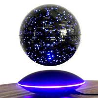 Творческий Магнитный Приостановлено Глобус Звездное Сказочный Декор Чёрный