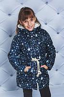 """Куртка-парка для девочки """"Зірочки"""", фото 1"""