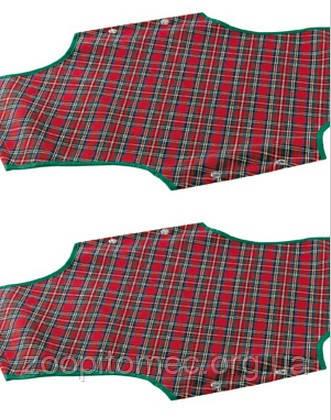 Ferplast COVER 100 TARTAN - тканевая основа для раскладушки