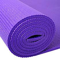 Профессиональный коврик для йоги и фитнеса «Hop-Sport» (PVC) 1730x610x5 мм, фото 3