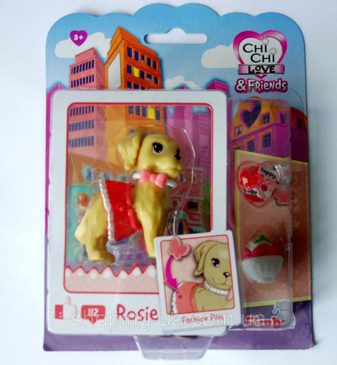 Собачка Друг Chi Chi Love с угощением съемной одеждой и аксессуарами Simba 5893111-112
