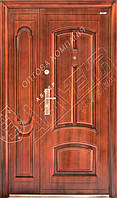 """Входная дверь """"Abwehr"""" - модель 2011 (Автолаковое покрытие, ширина 1200мм)"""