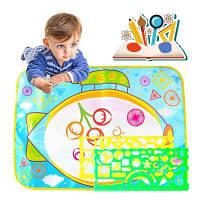 Детская мудрость раннего преподавания водного холста, пишущего граффити ковров Цветной