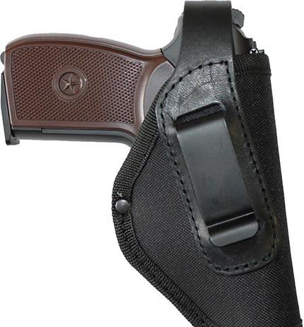Кобура поясна для пістолета Макарова зі скобою для прихованого носіння