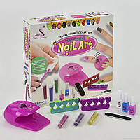 Набор Косметики  для девочки Маникюрный набор с лаками и сушилкой для ногтей