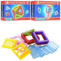 Магнитный конструктор Magic Magnetic JH8840-41, 18 деталей, 2 вида