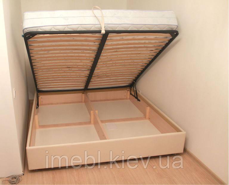 Кровать c подъёмным механизмом (Молочная)