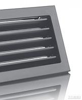 Решетка вентиляционная для камина KRVZ 450x240-ML без регуляции