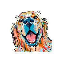 Cute Haba Dog Печать и рисование алмазных картин Цветной