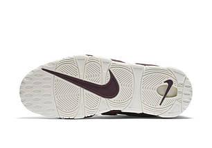 """Кроссовки Nike Air More Uptempo """"Bordeaux""""  (топ реплика), фото 3"""