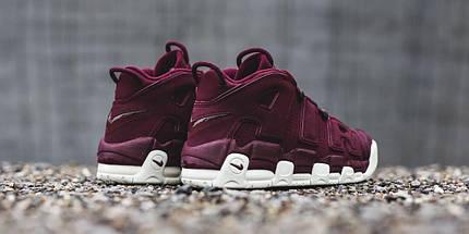 """Кроссовки Nike Air More Uptempo """"Bordeaux""""  (топ реплика), фото 2"""