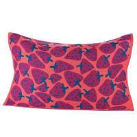 Хлопчатобумажная подушка для полотенец Красный