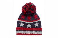 Детская шапка 1-3 года теплые шапки с помпоном Mothercare Англия