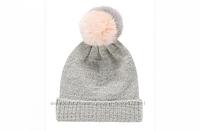 Детская шапка 6-12 месяцев демисезонные шапки с помпоном Mothercare Англия