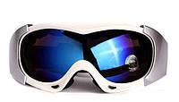 Маска (очки) горнолыжная Spyder PRO (белый)