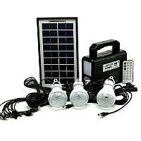 Автономный внешний аккумулятор-зарядное с солнечной батареей GDLITE GD-8028