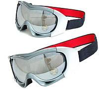 Маска (очки) горнолыжная Spyder PRO (серый)
