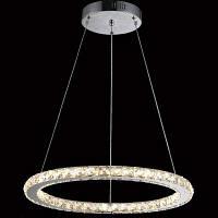 Luminaria современная прозрачная LED люстра кристалл подвесной светильник подвеска для дома 220-240V