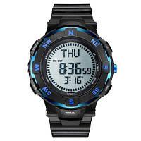 POPART POP831 модные спортивные наручные часы многофункциональные водонепроницаемые для мужчин Синий