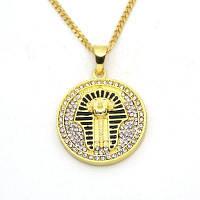 Новый Виток Египетского Фараона Ожерелье Хип-Хоп Золотой