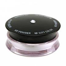 Прозрачная пудра для лица City Color HD Powder, фото 3
