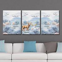 DYC 10250 Landscape Print Art готова повесить картины 3PCS 30 x 40 см x 3
