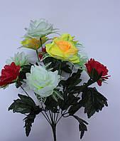 Роза 3х цветовая