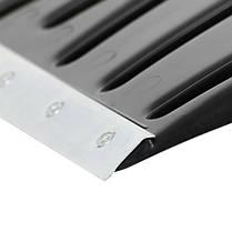 Лопата для уборки снега 460*340мм с ручкой 1300 мм INTERTOOL FT-2021, фото 2