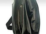 Сумка чоловіча Jak12, 27*24*6 см, чорний, флотар, фото 2