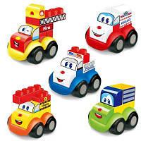 Раннее детство Образование Подарочные строительные блоки Игрушка 5PCS Цветной