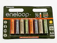 Аккумуляторы Panasonic eneloop AA 1900 8HH mAh NI-MH EXPEDITION COLORS, BK-3MCCE/8EE