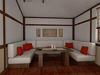 Изготовление мягкой мебели под заказ для ресторанов