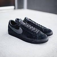 Nike SB Blazer Low Gt Black (топ реплика)
