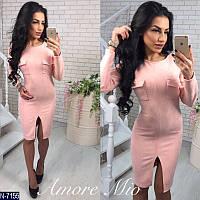 "Платье женское (42;44) ""AmoreMio"" - купить оптом со склада 2P/RVS-1335/2"