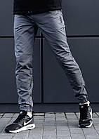 Мужские карго брюки (джоггеры) beZet Zipp gray '18, Хлопок