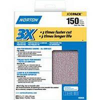 Наждачная бумага лист Norton зернистость Р 150 за 1 лист