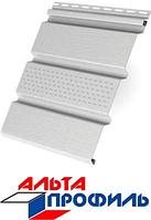 Сайдинг Альта Софит (потолочная панель) с перфорацией 0,235*3м Белый, фото 1