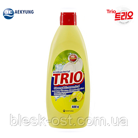 Моющее средство для посуды, фруктов и овощей Trio Antibacterial Strong & Economycal