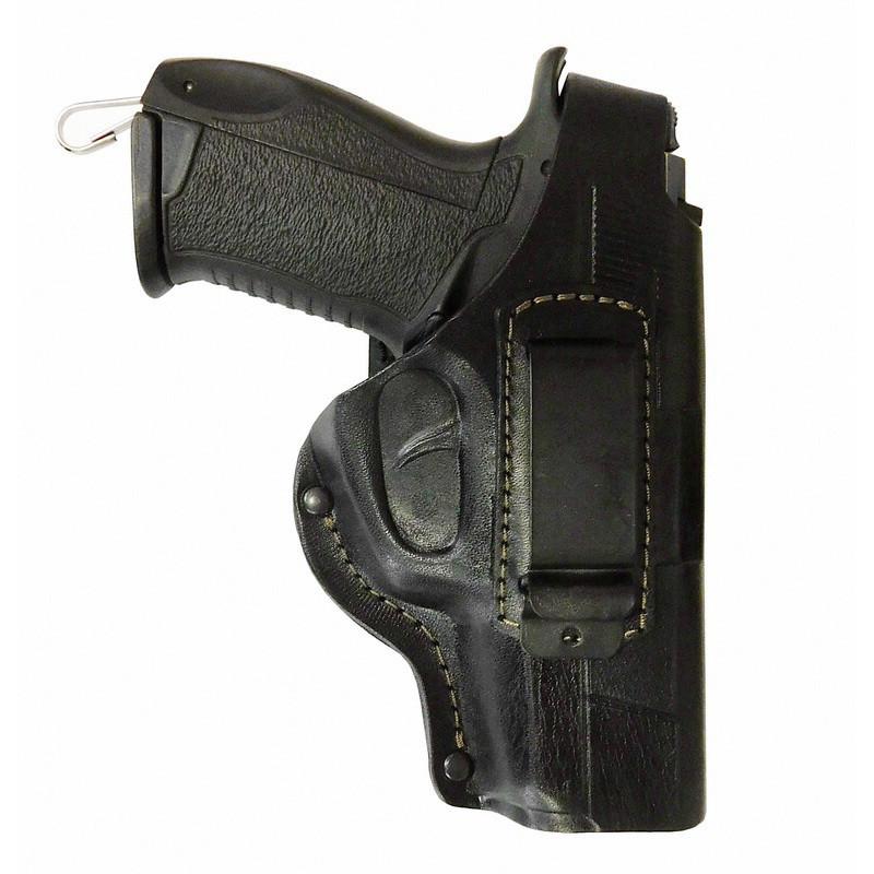 Кобура поясная для пистолета Форт 17 со скобой для скрытого ношения. Кожа.