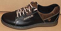 Туфли мужские спортивные из натуральной кожи от производителя модель ТМ - 13